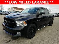 Options:  2010 Dodge Ram 1500 Laramie|Black|Recent