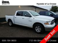 2010 Dodge Ram 1500 SLT 4D Crew Cab, 4WD, Alloy wheels,