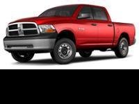 Options:  4Wd|Abs (4-Wheel)|Air Bags: Dual Front|Air