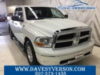 Bright White 2010 Dodge Ram 1500 SLT 4WD 5-Speed