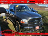 One Owner**, Alloy Wheels, CD Player, Ram 1500 ST, 4D