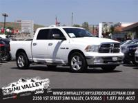 2010 Dodge Ram 1500 SLT  White and 40/20/40 Split Bench