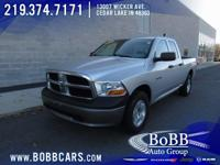 New Price! 2010 Dodge Ram 1500 ST Bright Silver