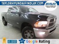 2010 Black Dodge Ram 2500 Laramie  Priced below KBB