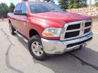 Introducing our 2010 Dodge RAM 2500 SLT Crew Cab 4x4 in