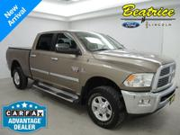 WOW! This non-smoker 2010 Ram 2500 is in REMARKABLE