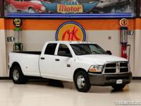 This Carfax 1-Owner 2010 Dodge Ram 3500 ST is in great