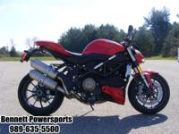 For Sale 2010 Ducati Street Fighter, this