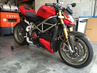 Ducati Streetfighter S - 2010 4,160 miles Upgrades: