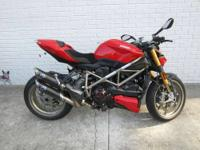2010 Ducati Streetfighter S with EXTRAS!!! COVERED IN