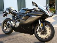 2010 Ducati 848 that has never been registered or put