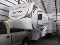 This 2010 Dutchmen Grand Junction GCR Fifth Wheel is
