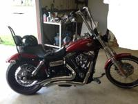 2010 Dyna Wide Glide. 9300 miles. Transferable