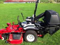 JUST 53.5 hours. Has 34 HP Kawasaki V-Twin engine,
