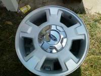 17 inch 2010 ford f150 wheels.Set of 4 with NO tires.