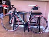 I am selling my 2010 brand new FELT S32 triathlon bike