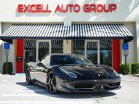 Introducing a 2010 Ferrari 458 Italia Coupe featuring