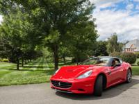 2010 Ferrari California Hard Top Convertible. Fully