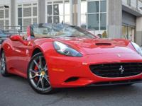 This Ferrari California is ready to roll today and is