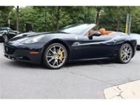 FEATURES ON THIS 1-OWNER 2010 FERRARI CALIFORNIA