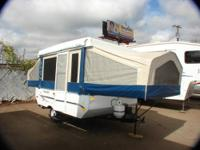 2010 FLAGSTAFF FOLDING CAMPER ONE OWNER NON SMOKER NADA