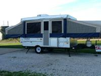 2010 Flagstaff pop up camper 228bh  One owner, this