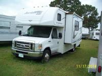 25ft Class C motor-home on Ford E450 chassis with V10