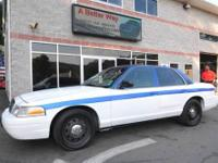 2010 Ford Crown Victoria, former livery use well