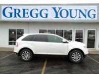 New Price! White Suede 2010 Ford Edge SEL FWD 6-Speed