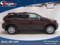 This 2010 Ford Edge SEL AWD has HEATED LEATHER SEATS,