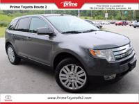 New Price! 2010 Ford Edge Limited in Black. AWD.
