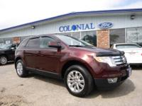 WOW! This Sharp 2010 Ford Edge SEL AWD with only 32,000