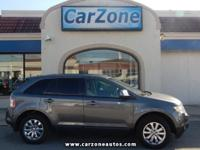 2010 FORD EDGE SEL - All Wheel Drive - Sterling Grey