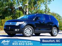 2010 Ford Edge in Black. Composed ride delivers smooth