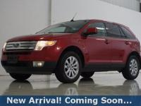 2010 Ford Edge SEL in Red Candy Metallic w/Tinted