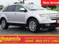 This 2010 Ford Edge SEL in Ingot Silver Metallic