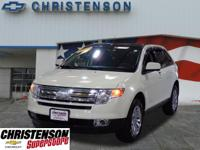 2010+Ford+Edge+SEL+In+White+Suede+*+MOONROOF+SUNROOF+*+