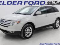 Recent Arrival! 2010 Ford Edge SEL White Suede Odometer