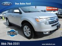 Don Bohn Ford presents this 2010 FORD EDGE 4DR LIMITED