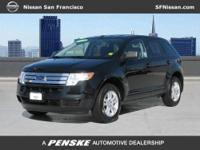 Jet Black! Your lucky day! This 2010 Edge is for Ford