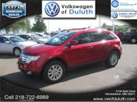 AWD. Spotless One-Owner! Red Hot! You don't have to