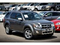 Come on in and check out this 2010 Ford Escape Limited