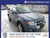 Options:  2010 Ford Escape Limited Blue 2010 Ford