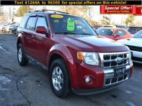 Step into the 2010 Ford Escape! It comes equipped with