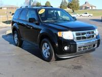 This 2010 Ford Escape Limited in Black Pearl Slate
