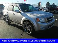 Silver 2010 Ford Escape Limited FWD 6-Speed Automatic