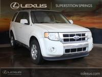 2010 Ford Escape Limited Duratec 3.0L V6 Flex Fuel