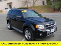 2010 Ford Escape Limited Black Duratec 3.0L V6 Flex