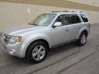 CHECK OUT THIS SPACIOUS 4-dr 2010 FORD ESCAPE Limited
