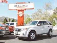 Options:  2010 Ford Escape Xls|Carfax One-Owner. White